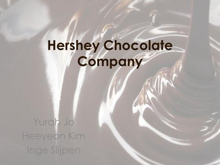 international market entry strategy for hershey Customer base, customer profile, marketing strategy and marketing mix our study   hershey's can also build global partnerships in international markets.