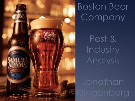 boston beer case study analysis Logitech case study - final 020709 - free download as pdf file (pdf), text file (txt) or read online for free.