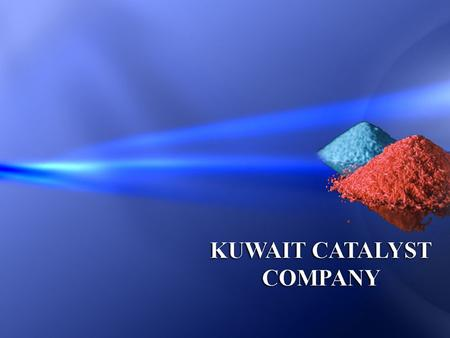 Our Mission To produce high performance catalysts and supply chemicals to Middle East & North Africa region.