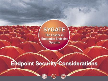 1 Endpoint Security Considerations. 2 Agenda Open Networks PROs & CONs Challenges Alternatives.