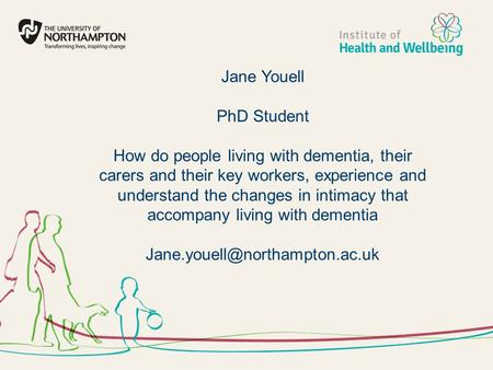 Jane Youell PhD Student