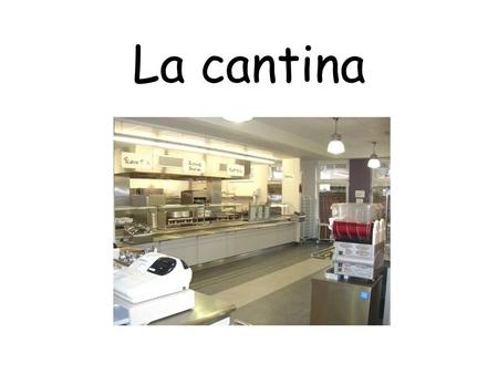 La cantina. Can you work out what these items of food and drink are? 1.un bocadillo de jamón 2.un agua mineral 3.un zumo de naranja 4.espaguetis 5.una.