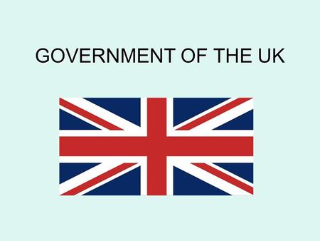 GOVERNMENT OF THE UK.