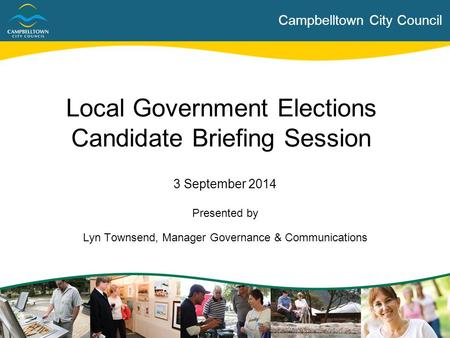 Local Government Elections Candidate Briefing Session