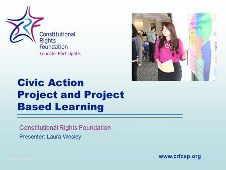 Civic Action Project and Project Based Learning