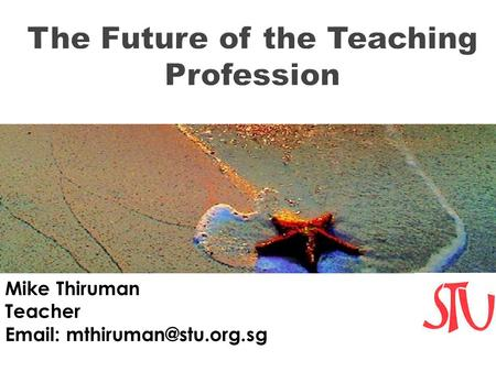 Mike Thiruman Teacher