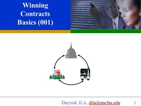 Daryush ILA,  SBIR or any other Contracts Daryush ILA, Ph. D. Winning Contracts Basics (001) Industry University.