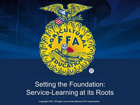 Setting the Foundation: Service-Learning at its Roots