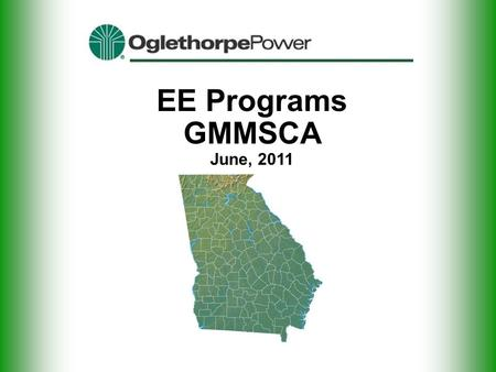 EE Programs GMMSCA June, 2011. Increasing Load Requirements.