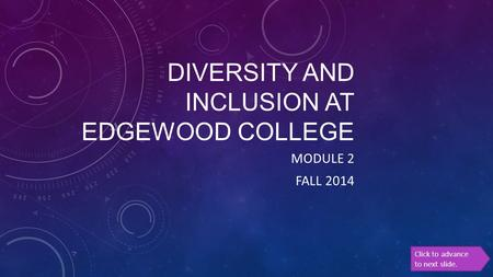 Diversity and inclusion at Edgewood college