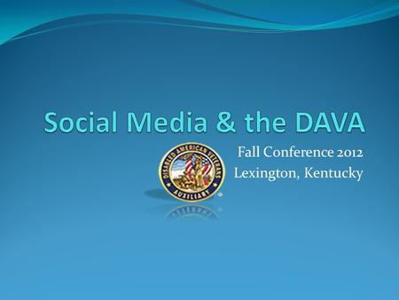 Fall Conference 2012 Lexington, Kentucky