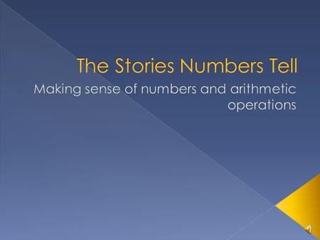  I'm Sue Jones, and I've put together these slide shows and activities to try to help people understand math. These are mostly about what I call number.