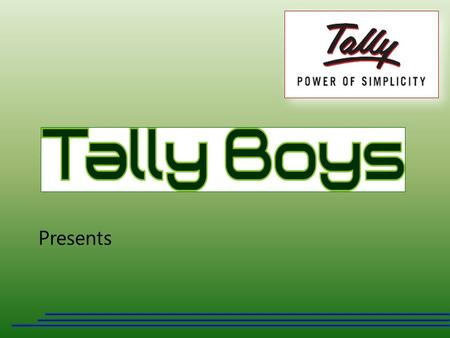 Presents. This is OPD Module, developed by Tally Boys A complete OPD Management System… www.tallyboys.com Out Patient Department (OPD)
