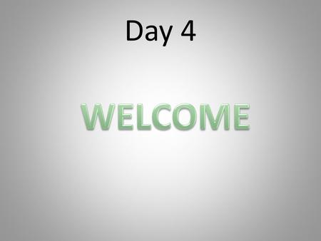 Day 4. Resistance Blocks Struggles Barriers Attitudes What will you do?
