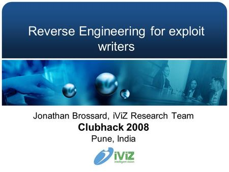 Reverse Engineering for exploit writers