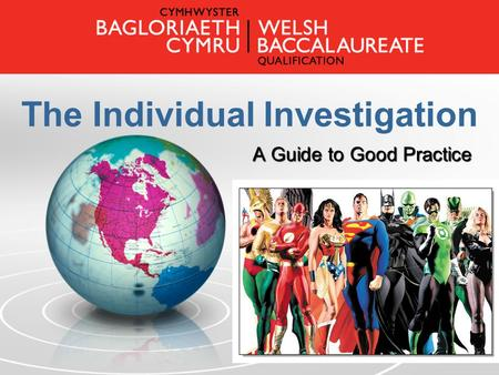 The Individual Investigation A Guide to Good Practice.