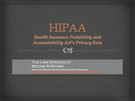 hipaa health the privacy rule and The pba hipaa privacy and security rule forms toolkit provides our clients with the instructions and forms required to implement the latest in hipaa/hitech privacy and security mandates.