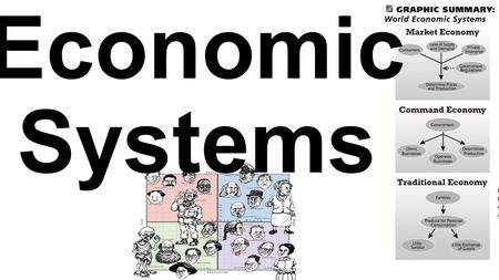 Economic Systems. Mixed 2 Few countries have a pure market OR a pure command economy. Instead they are a mixture of both. This is because if it is mixed.