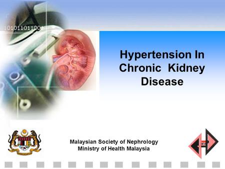 Hypertension In Chronic Kidney Disease