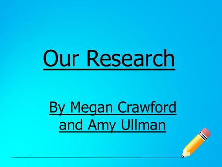 Our Research By Megan Crawford and Amy Ullman. Topic and why? Our research question is: what do people in our class think about the size, layout and conditions.