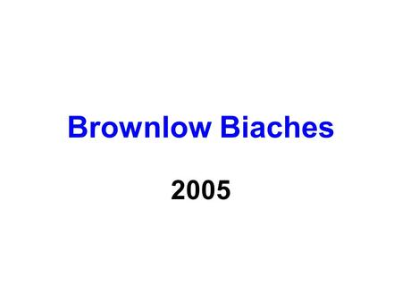 Brownlow Biaches 2005. Chris Judd and Rebecca Twigley He should be stripped of his Brownlow after making his missus put her cans away this year.
