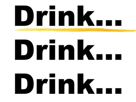 Drink… Drink… Drink…. Or Should You? Myths About Alcoholism.