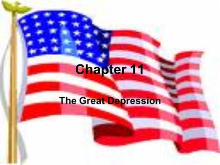 Chapter 11 The Great Depression. Key Terms and People Gross National Product: GNP- total value of goods and services produced in a nation during a specific.