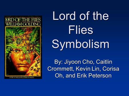 psychology in the lord of the flies by william golding
