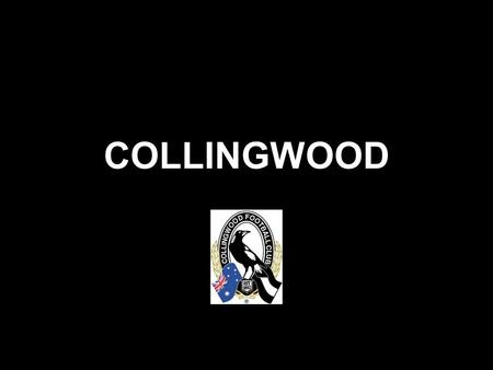 COLLINGWOOD. After 20 years of suffering.. After hitting rock bottom,
