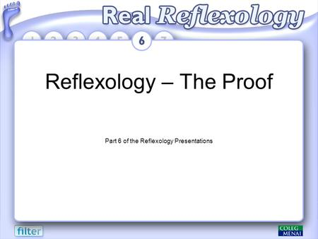 Reflexology – The Proof Part 6 of the Reflexology Presentations.