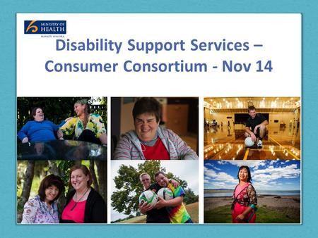 Disability Support Services – Consumer Consortium - Nov 14.