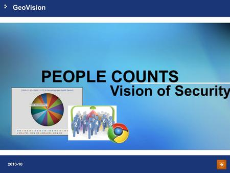 PEOPLE COUNTS Vision of Security.