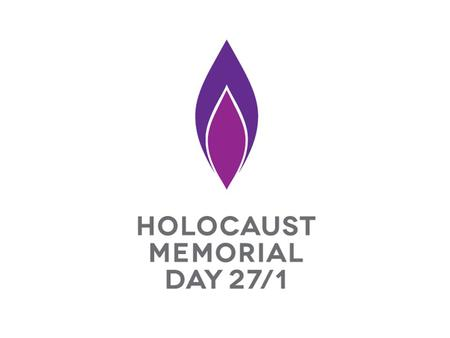 On 27 January we mark Holocaust Memorial Day On 27 January we mark Holocaust Memorial Day.