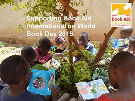 Supporting Book Aid International on World Book Day 2015