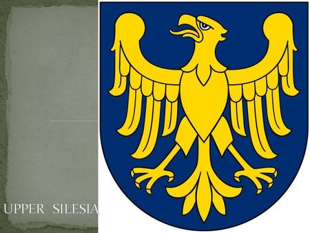 Upper Silesia is situated on the upper Oder River, north of the Eastern Sudetes mountain range and the Moravian Gate, which form the southern border with.