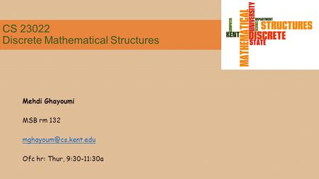 CS Discrete Mathematical Structures