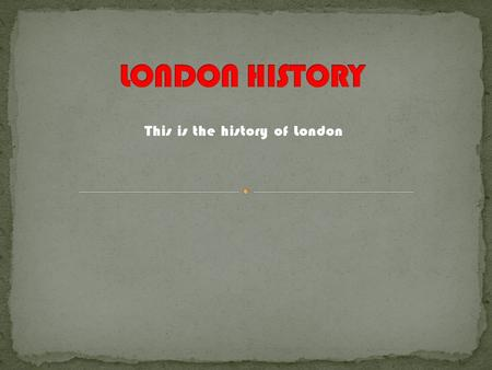 This is the history of London. The Big ben is a clock tower of Westminster (typically called house of parliament). Since 2012 the official name of tower.