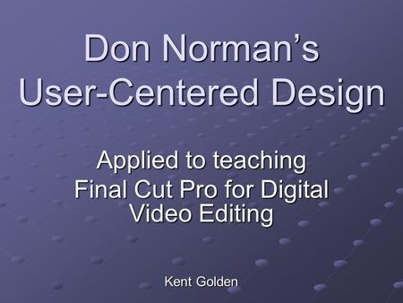 user centered design principles pdf