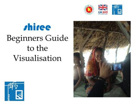 Shiree Beginners Guide to the Visualisation. Accessing the Visualisation: What features can we see?