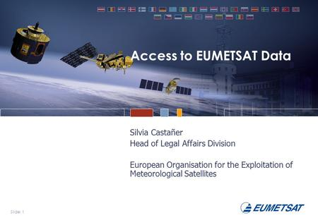 Access to EUMETSAT Data