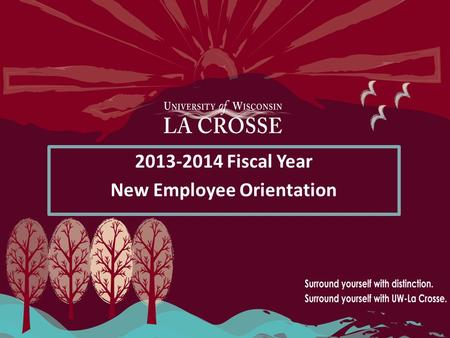 Fiscal Year New Employee Orientation