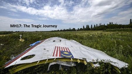 1 MH17: The Tragic Journey 2 Row on row: The bagged victims were gathered and piled onto vehicles before being taken to a train station in rebel-held.