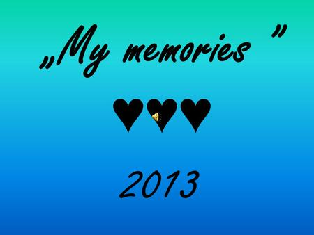 """My memories "" ♥♥♥ 2013. Diary about Polish – Cypriot students' exchange 2013/2014 part 1 - Cyprus."