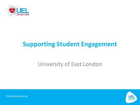 Supporting Student Engagement