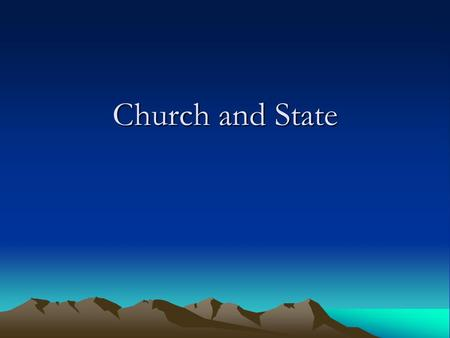 Church and State. Similarities Similarities Both are instituted by God.Both are instituted by God.