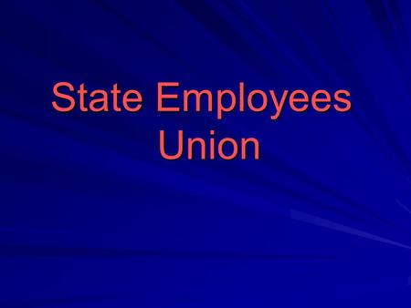 "State Employees Union. State Employees Union is part of the General Federation of Labor in Israel – ""Histadrut"" It represents all the civil servants In."