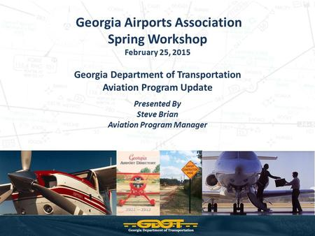 Spring Workshop Georgia Airports Association