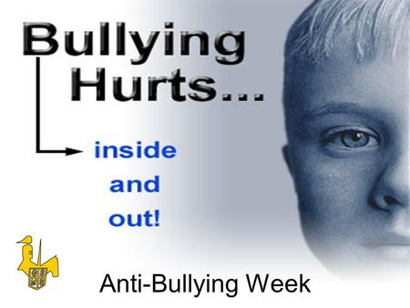Anti-Bullying Week.