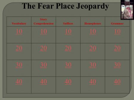The Fear Place Jeopardy