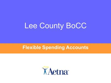 Lee County BoCC Flexible Spending Accounts. Lee County BoCC Welcome to the Flexible Spending Accounts Information Session You can view this information.